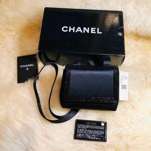 Authentic vintage chanel satin bag